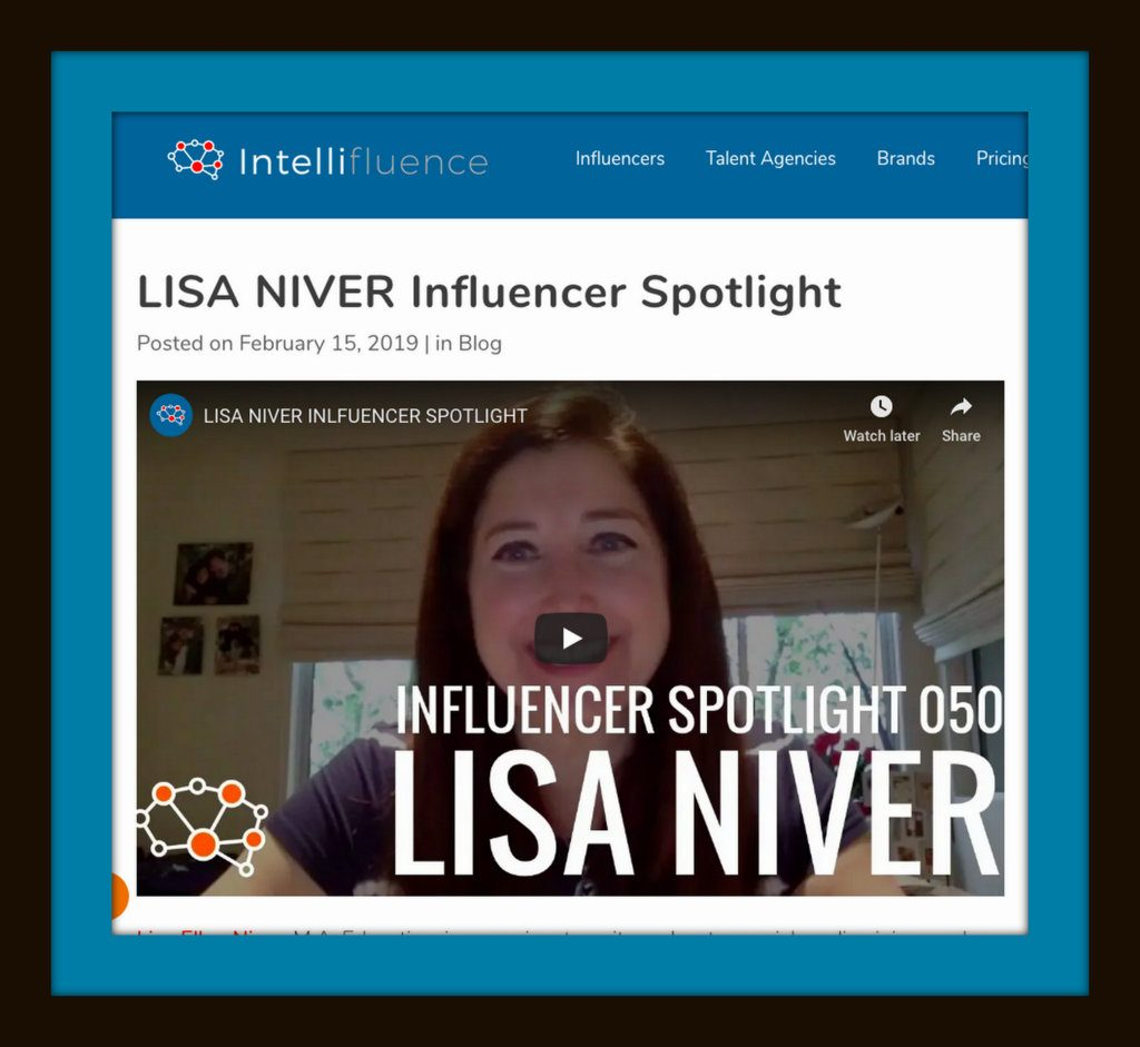 Lisa Niver interviewed for Intellifluence