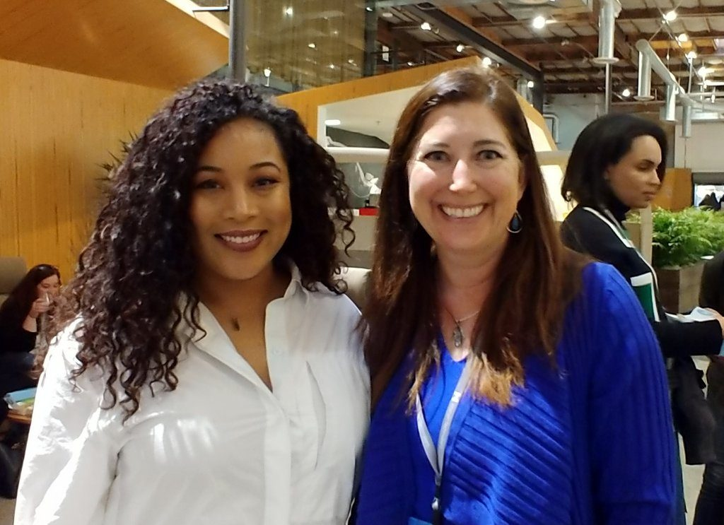 Bria Sullivan and Lisa Niver