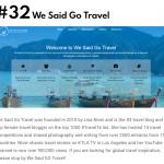 We Said Go Travel Top 50 Most Amazing Travel Blogs