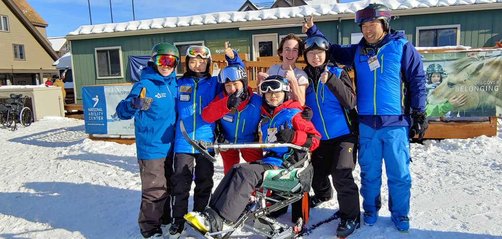 South Korean Ski Instructors at NAC