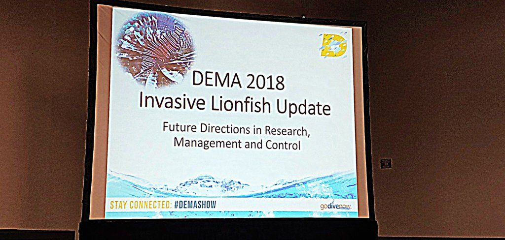 Lionfish Summit at DEMA Nov 2018