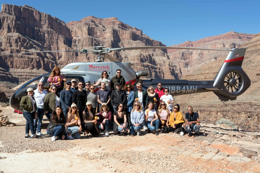Grand Canyon by Helicopter with Fly Maverick