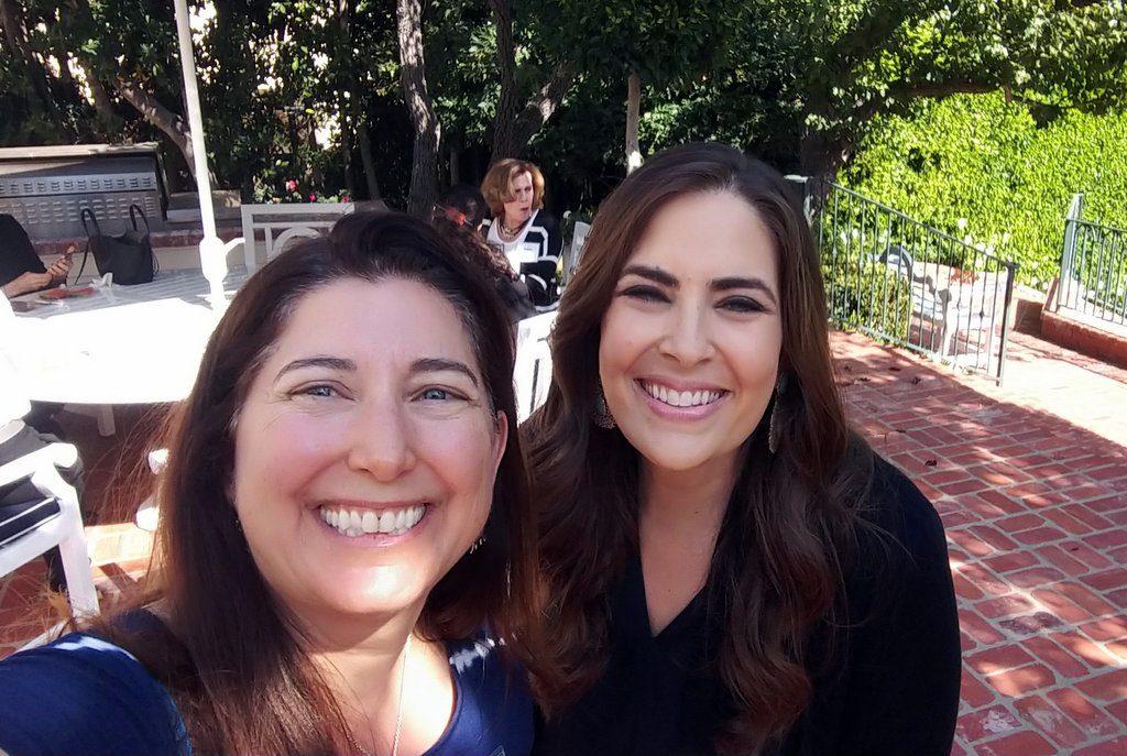 Lisa Niver and Jessica Abo