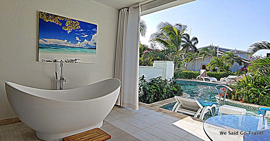 My room at Sandals Montego Bay by Lisa Niver