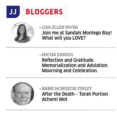 Lisa Niver in the Jewish Journal
