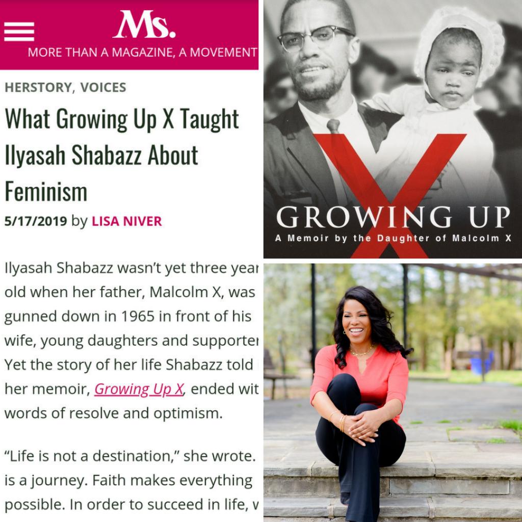 Lisa Niver's article on Ilyasah Shabazz in Ms. Magazine
