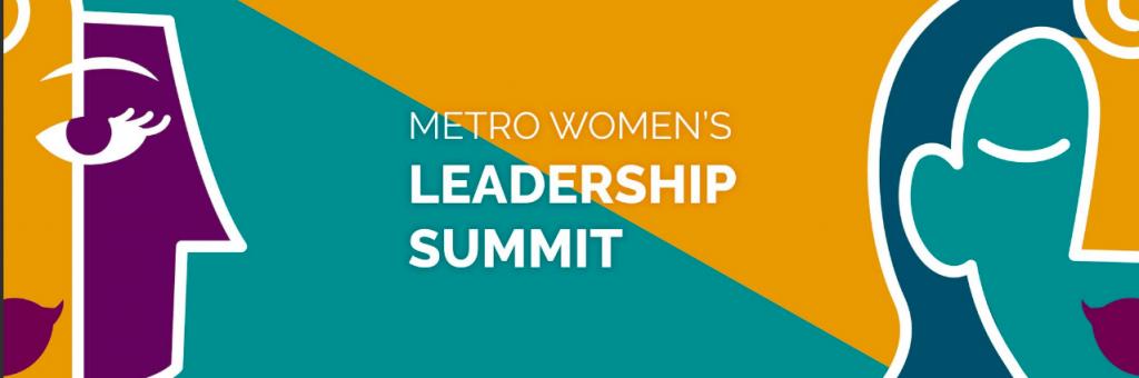 Metro Women's Leadership Summit Banner