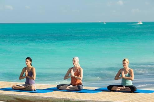 Beaches Seaside Yoga during BFF