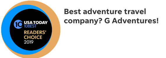 USA Today 10best Best Adventure Company GAdventures