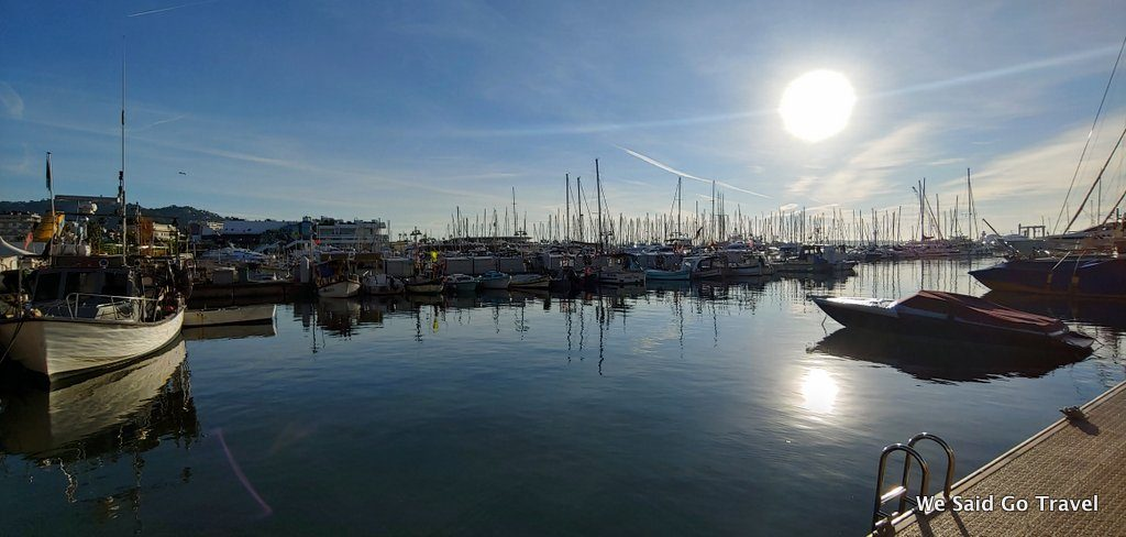 Cannes harbor by Lisa Niver
