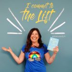 Lisa Niver at Melinda Gates book talk, The Moment of Lift