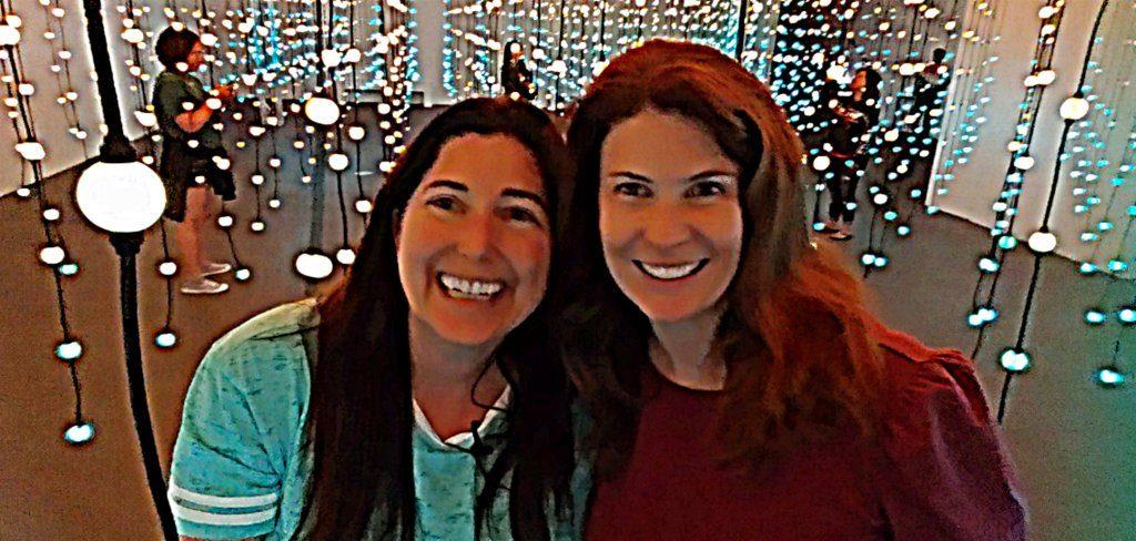 Lisa and Jen at Wonderspaces Arizona