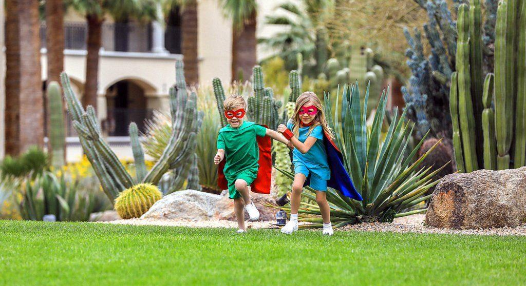 Superheros at Fairmont Scottsdale Princess