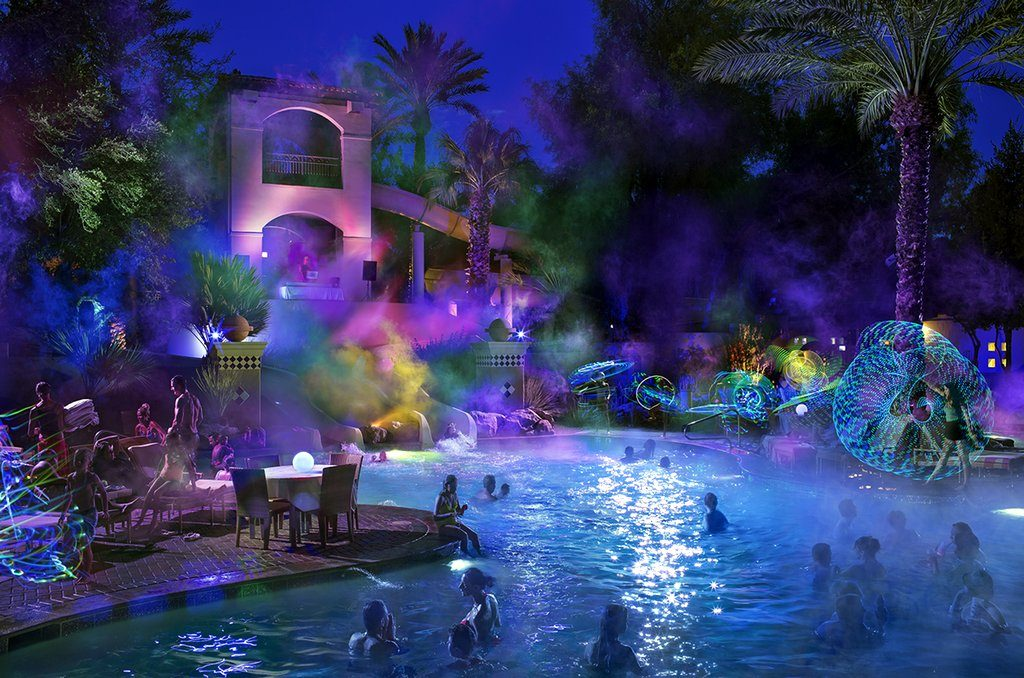 GLO Party at Fairmont Scottsdale Princess by Michael Baxter, Baxter Imaging LLC
