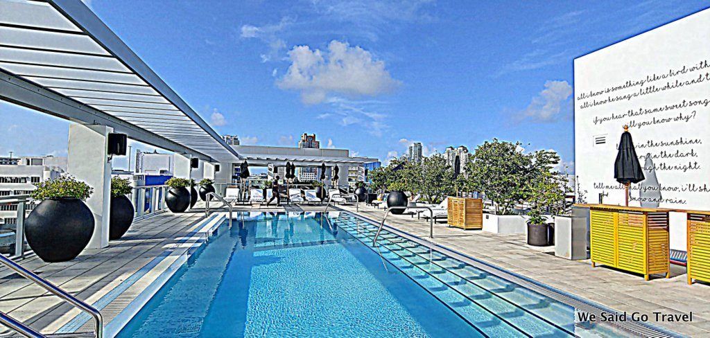Kimpton Angler's Hotel pool in South Beach by Lisa Niver