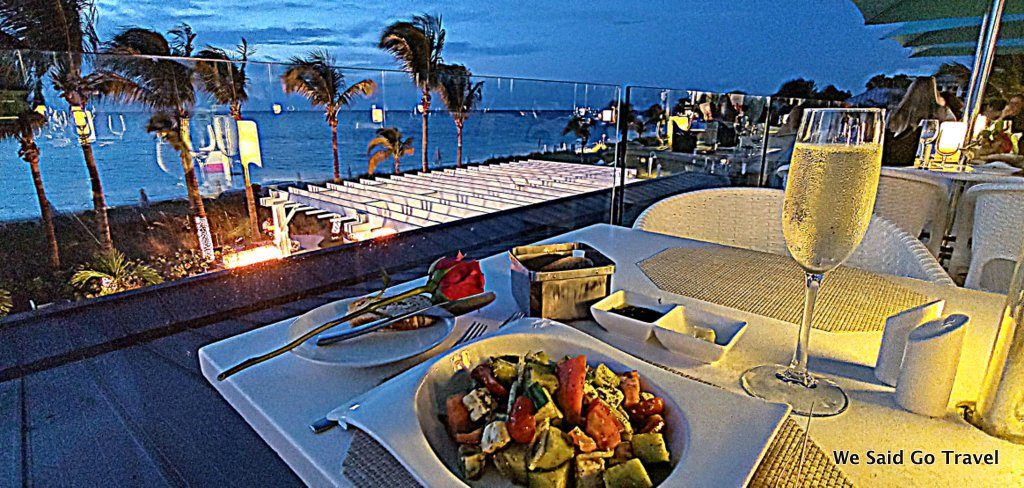 Dinner at Beaches Turks and Caicos