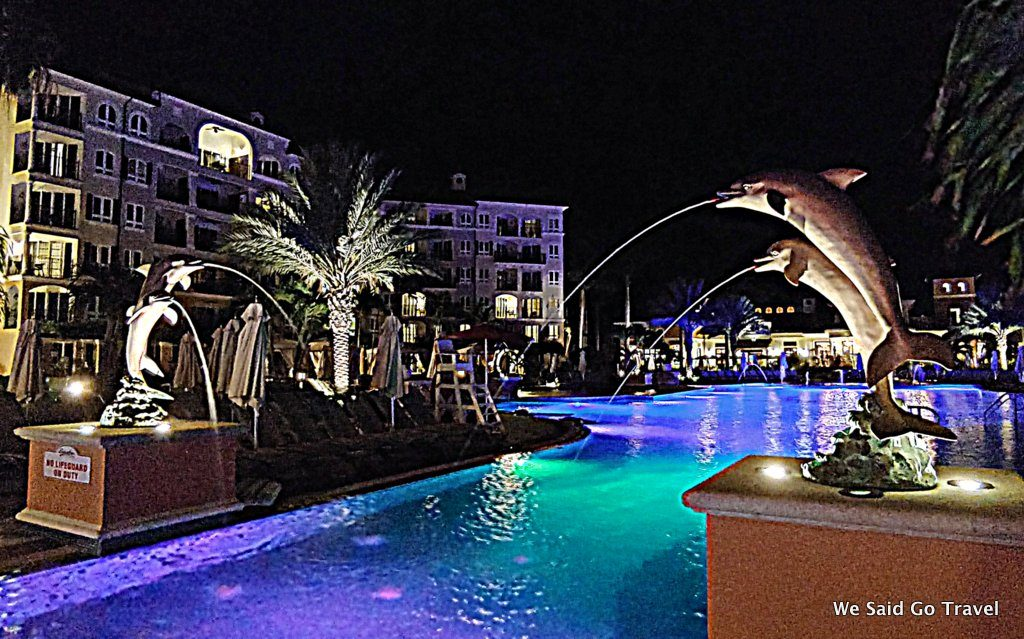 Night time at Beaches Turks and Caicos