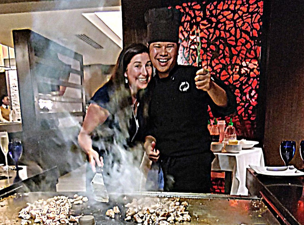 Cooking at KImono's Beaches Turks and Caicos