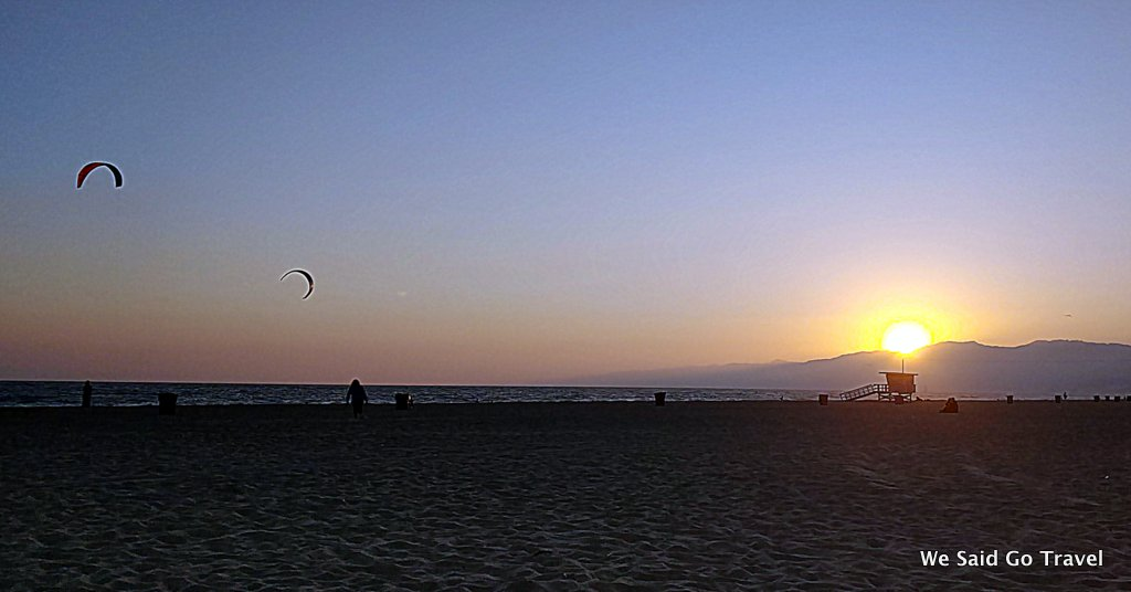 Santa Monica Sunset by Lisa Niver