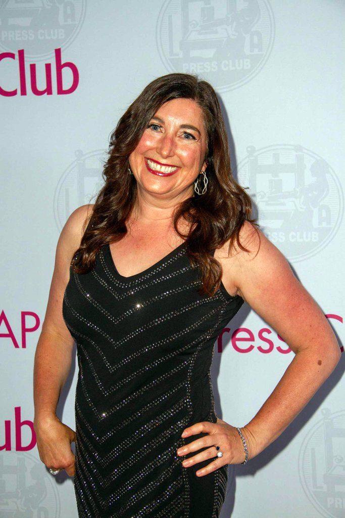 Lisa Niver at Los Angeles Press Club Awards Red Carpet 2019