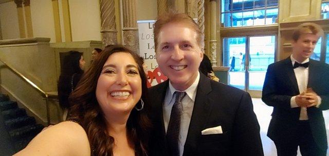 Lisa Niver and Chris Palmeri
