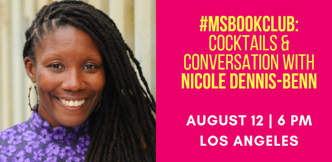 August 12: Cocktails and Conversation with Nicole Dennis-Benn