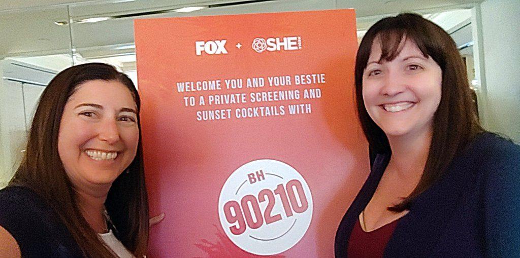 Jina and Lisa at 90210 premier
