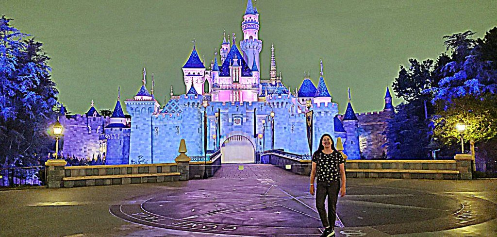 Lisa Niver at Disneyland