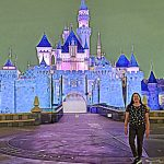 Lisa Niver at Disneyland