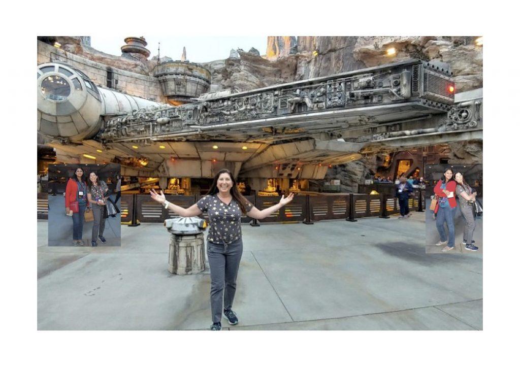 Lisa Niver at Star Wars