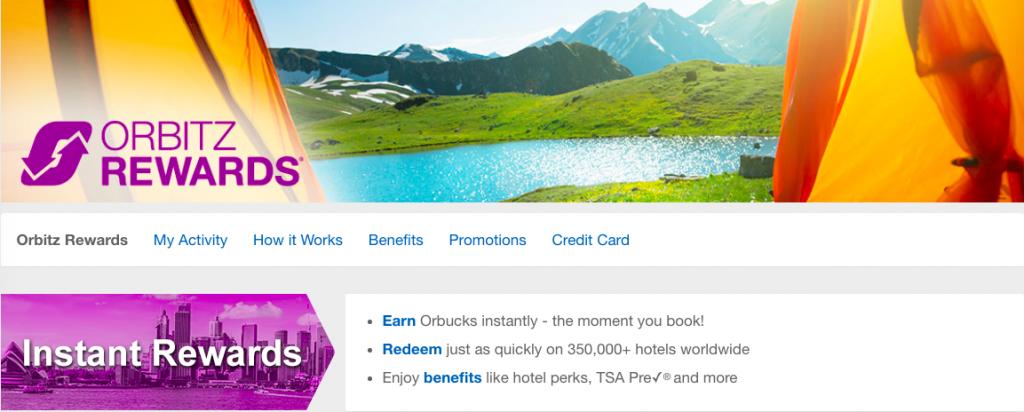 Orbitz Rewards 2019