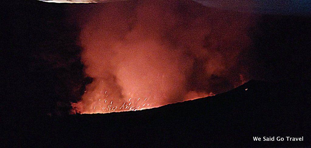 Mount Yasur volcano in Tanna, Vanuatu