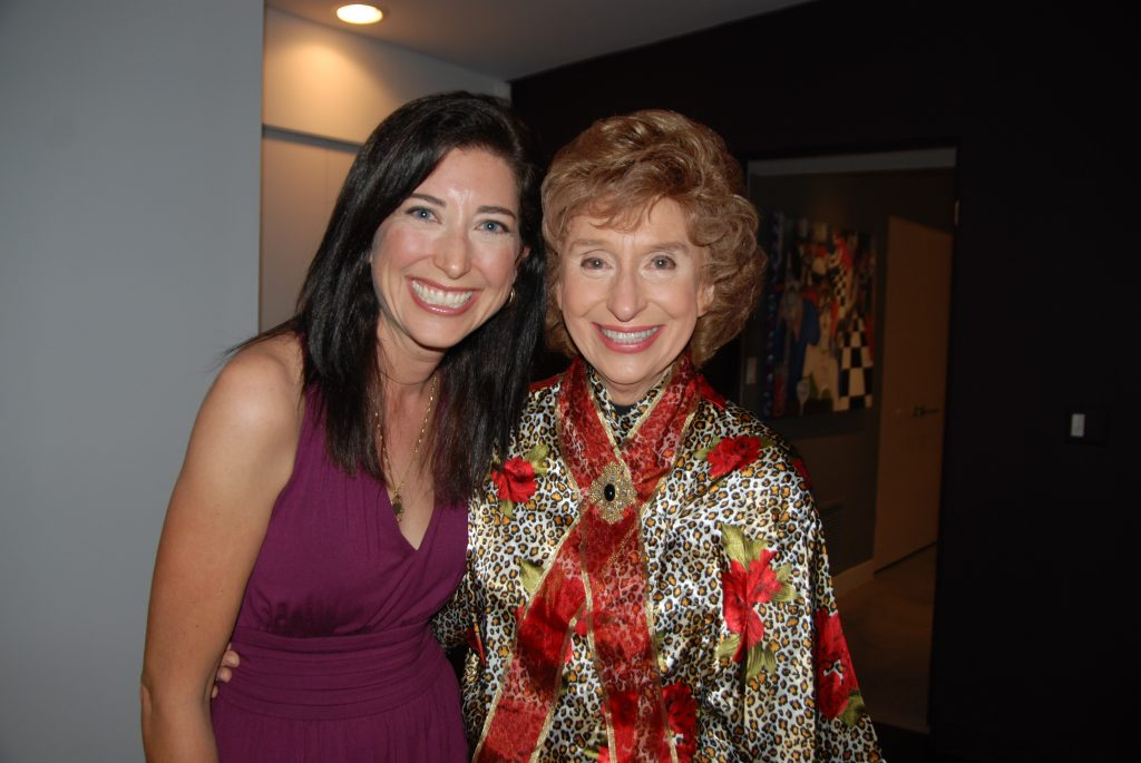 Joannie Parker and Lisa Niver in 2009