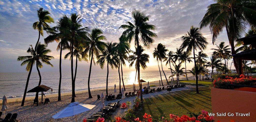 Sunset at Sheraton Fiji Resort by Lisa Niver