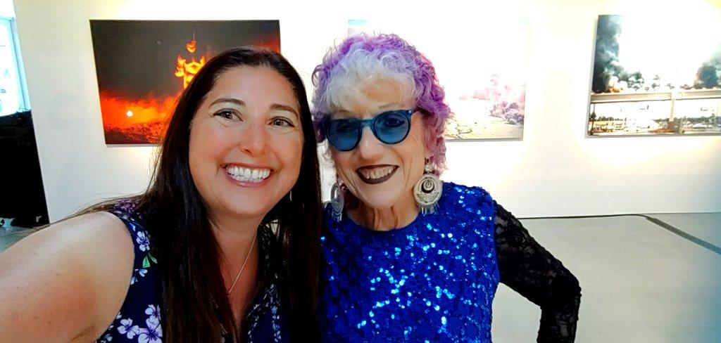 Lisa Niver and Judy Chicago