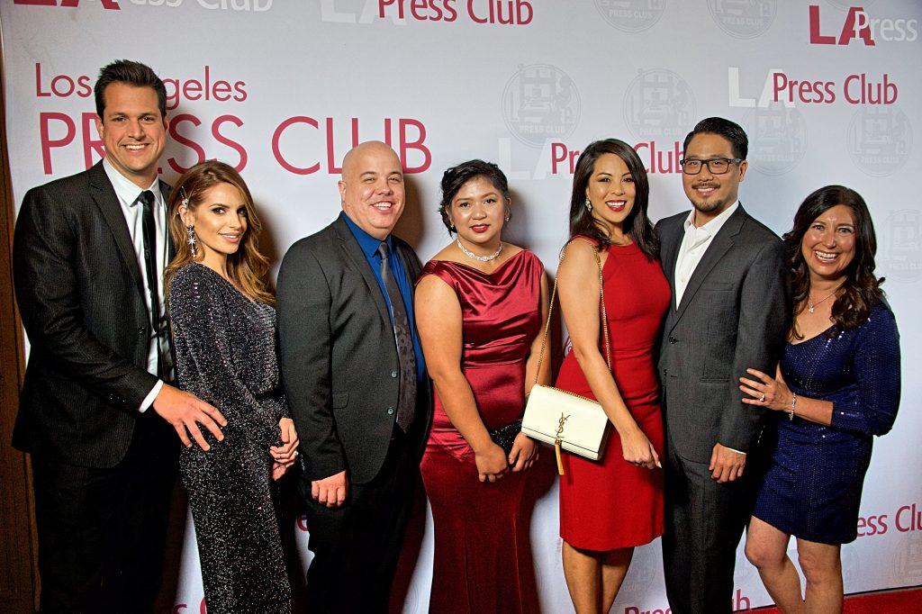 KTLA TV on the Red Carpet at the NAEJ Awards 2019