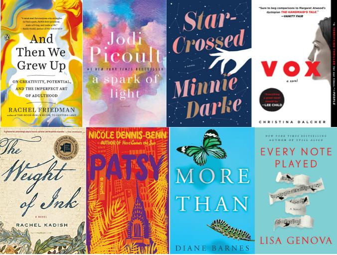 Feminist Fiction Books 2019 by Lisa Niver