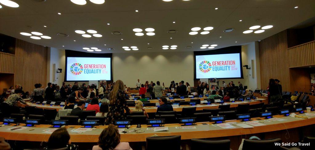 UN Women meeting Sept 23, 2019 New York City