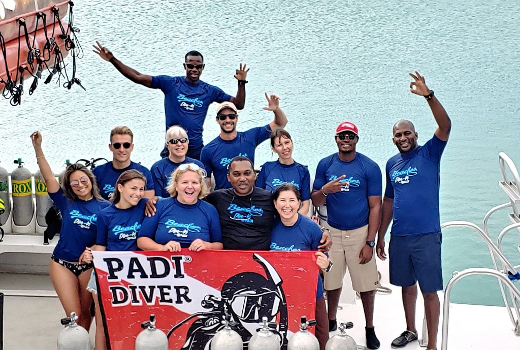 PADI Dive in LIV+ Beaches Turks and Caicos