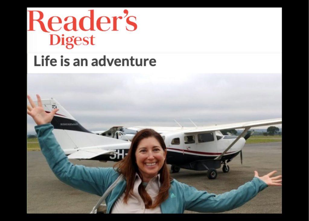 Lisa Niver in READERS DIGEST