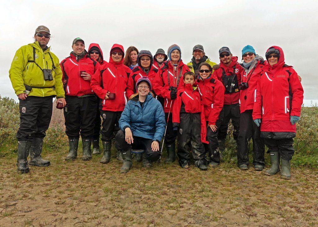 Group photo on Churchill Wild adventure