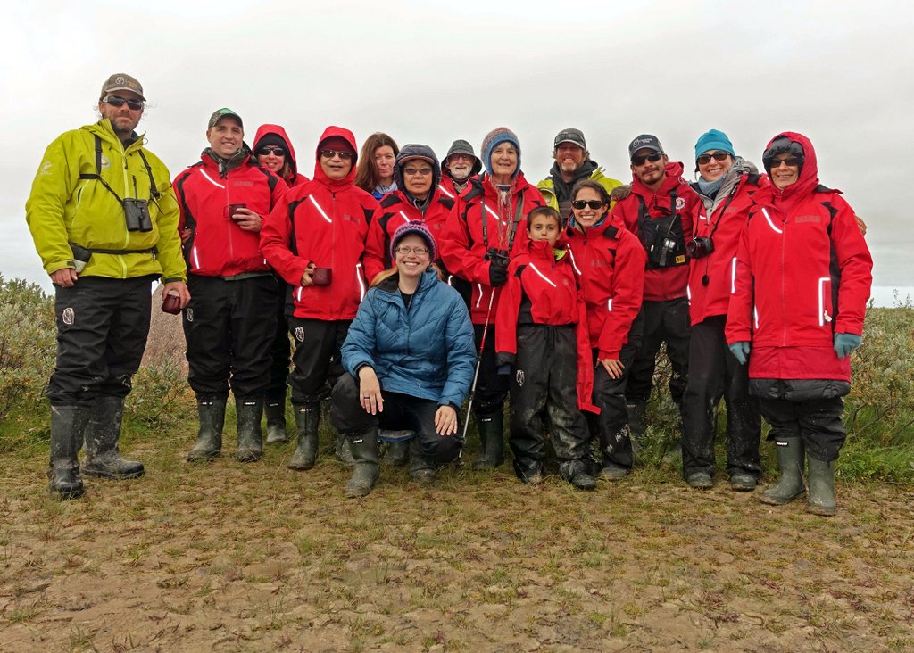 Group photo on Churchill Wild adventure