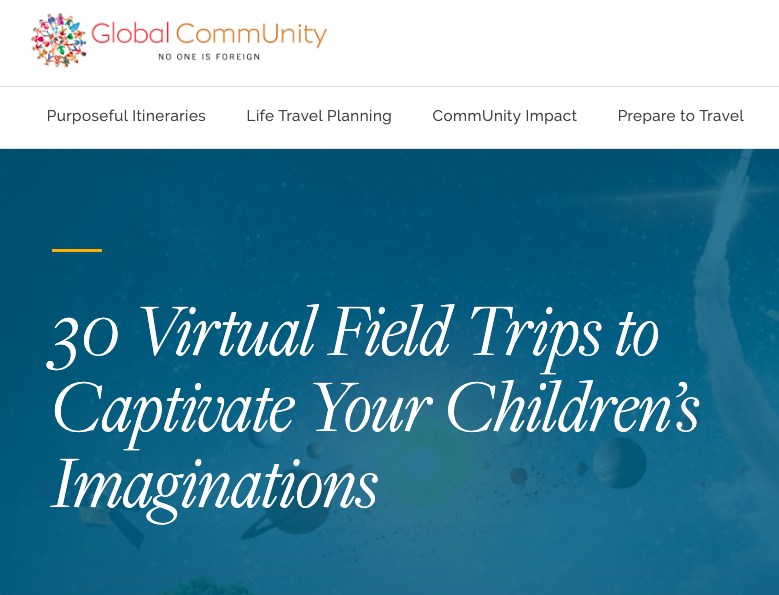 global-community virtual field trip
