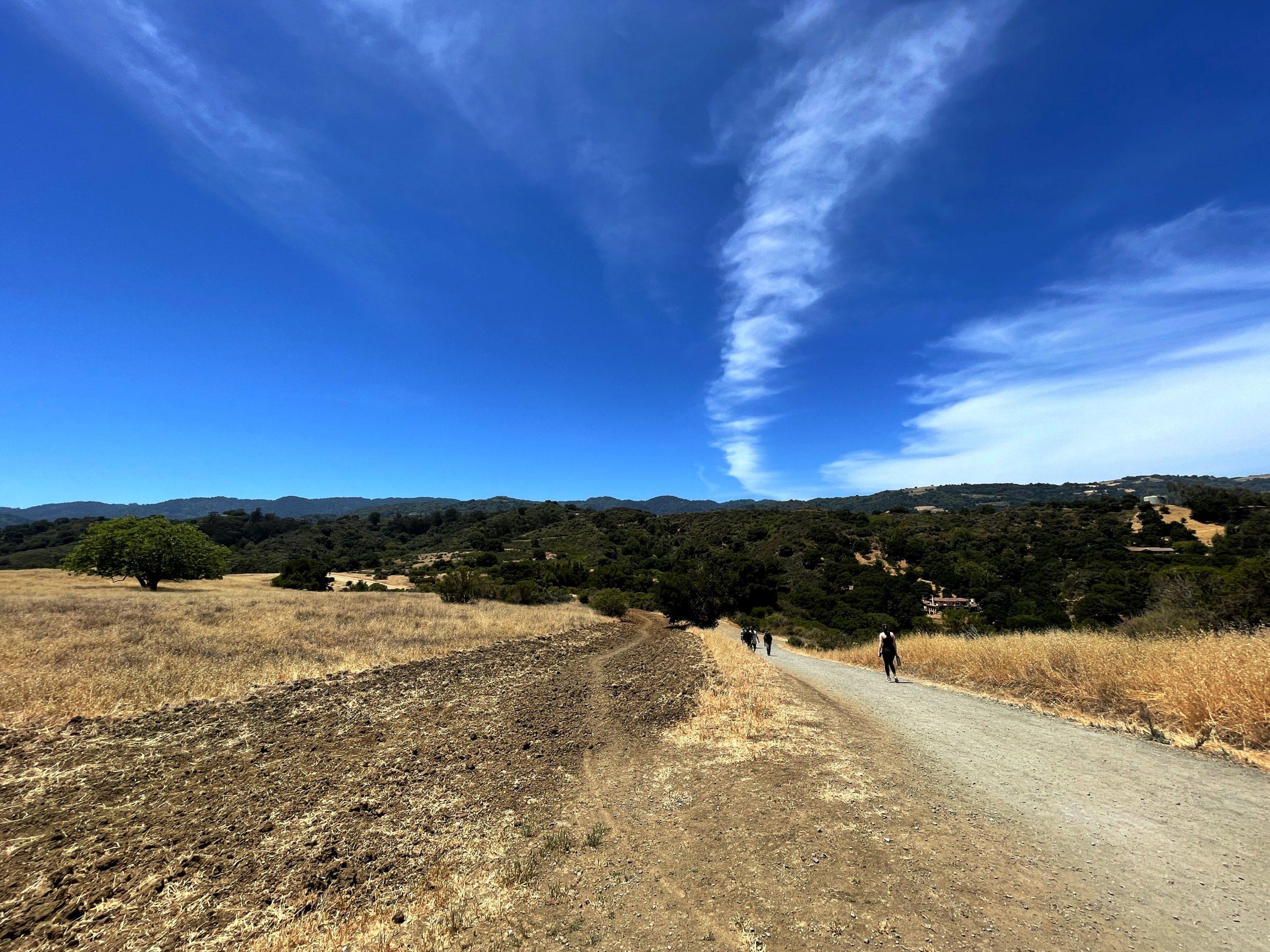 Niver hiking with Rabbi Dantowitz